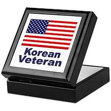 Korean Veteran Keepsake Box