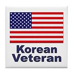 Korean Veteran Tile Coaster