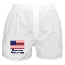 Korean Veteran Boxer Shorts