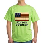Korean Veteran Green T-Shirt