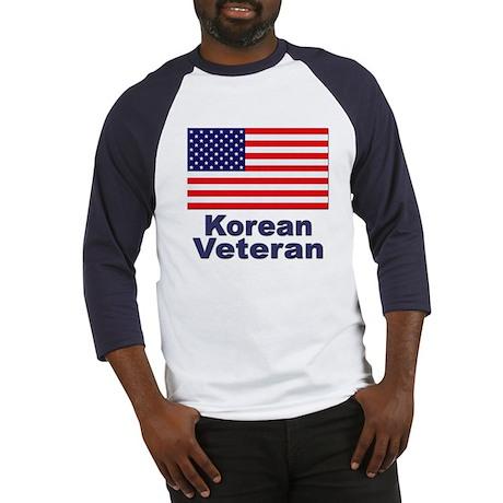 Korean Veteran (Front) Baseball Jersey