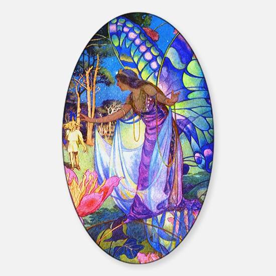 MIDSUMMER NIGHTS DREAM Oval Decal