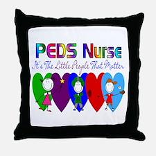 Pediatrics/PICU Throw Pillow