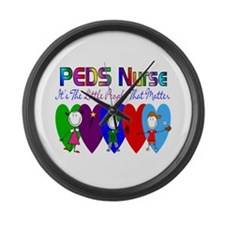 Pediatrics/PICU Large Wall Clock