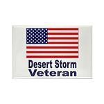 Desert Storm Veteran Rectangle Magnet (10 pack)