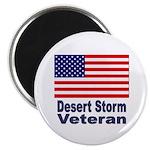 Desert Storm Veteran Magnet