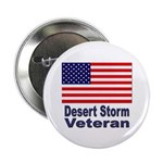 Desert Storm Veteran Button