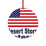 Desert Storm Veteran Ornament (Round)