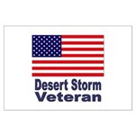 Desert Storm Veteran Large Poster