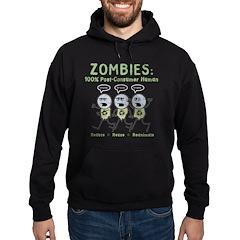 Zombies (Full Color) Hoodie (dark)