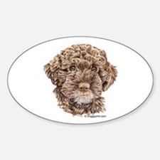 Lagotto Oval Decal