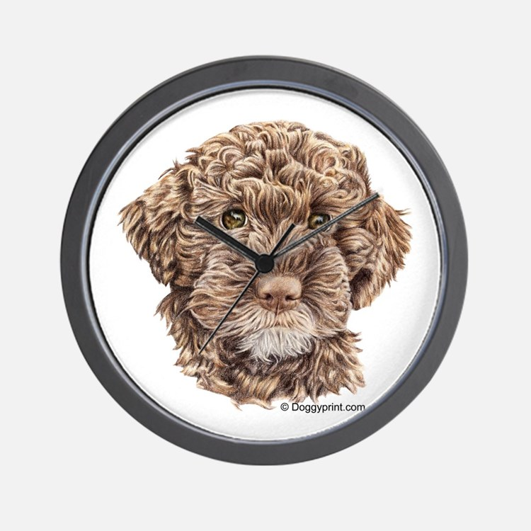 Lagotto Wall Clock