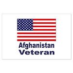 Afghanistan Veteran Large Poster