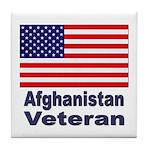 Afghanistan Veteran Tile Coaster