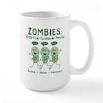 Zombies (Green) Large Mug