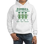 Zombies (Green) Hooded Sweatshirt