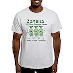 Zombies (Green) Light T-Shirt