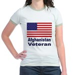 Afghanistan Veteran Jr. Ringer T-Shirt