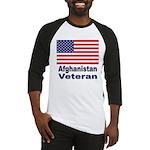 Afghanistan Veteran Baseball Jersey