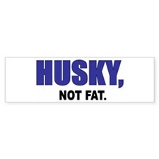 Husky Bumper Bumper Sticker