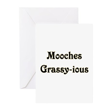 Mooches Grassy-ious Greeting Cards (Pk of 10)