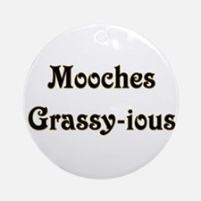 Mooches Grassy-ious Ornament (Round)