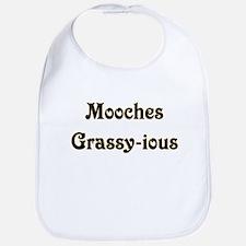 Mooches Grassy-ious Bib