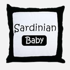 Sardinian baby Throw Pillow