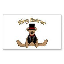Ring Bearer Rectangle Decal