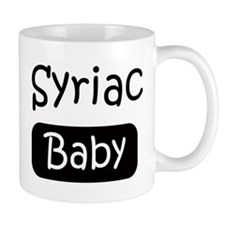 Syriac baby Mug