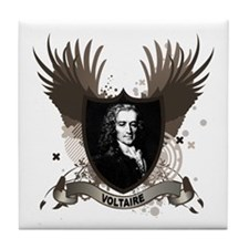 Voltaire Tile Coaster