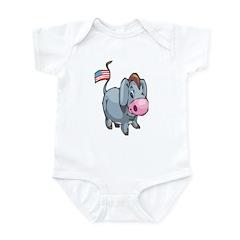 Cute Democrat Infant Bodysuit