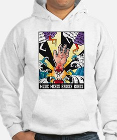 Music Mends Broken Bones Jumper Hoody
