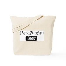 Paraguayan baby Tote Bag