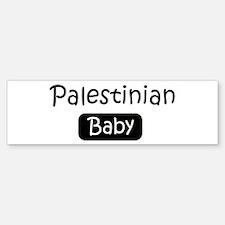 Palestinian baby Bumper Bumper Bumper Sticker