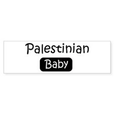 Palestinian baby Bumper Bumper Sticker