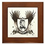 Ralph Waldo Emerson Framed Tile