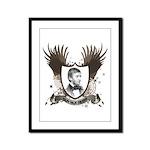 Ralph Waldo Emerson Framed Panel Print