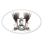 Ralph Waldo Emerson Oval Sticker (50 pk)
