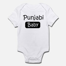 Punjabi baby Infant Bodysuit