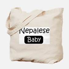 Nepalese baby Tote Bag