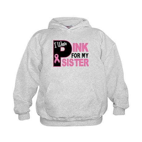 I Wear Pink For My Sister 31 Kids Hoodie