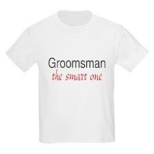 Groomsman (The Smart One) T-Shirt