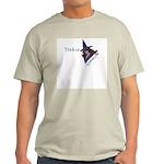 Trick or Tease Ash Grey T-Shirt