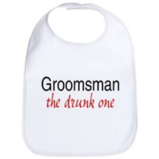 Groomsman (The Drunk One) Bib