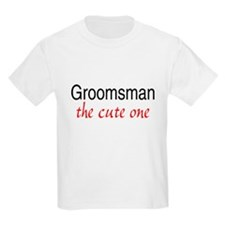 Groomsman (The Cute One) T-Shirt