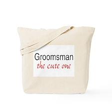 Groomsman (The Cute One) Tote Bag