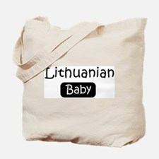Lithuanian baby Tote Bag