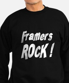 Framers Rock ! Sweatshirt (dark)