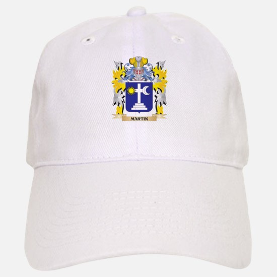 Martin Coat of Arms - Family Crest Baseball Baseball Cap